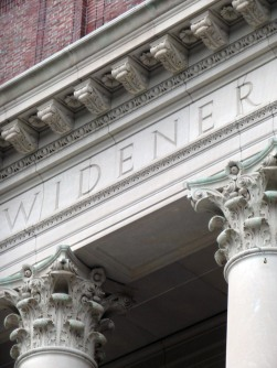 Harvard's Widener library, Summer 2013