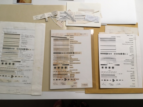 Steinberg Papers_Process material for Country Noises TNY